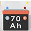 Offert batterie de 70 ah 70 amperes heure