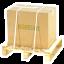 Expédition sécurisée: emballage fixé sur palette
