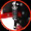Tondeuse autoportée dotée de suspensions
