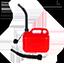 Offert: bidon pour stockage de carburant 5 L