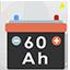 Offert batterie de 60 ah 60 amperes heure
